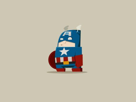 Captain America by pan10