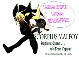Scorp Malfoy: Slytherin Chaser by Fayari