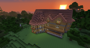 Minecraft House by Cosmic155