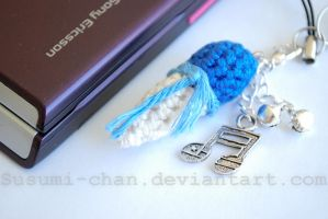 Kaito Cream cellphone charm by romanletters