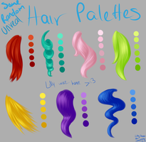 HairPalettes by LillyCheese