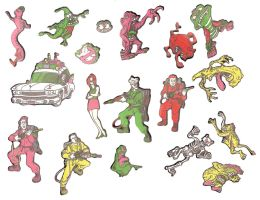 Real Ghostbusters Colorforms1 by jhroberts