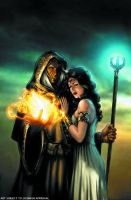 Dragonlance oficial cover by wici