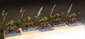 Hero Quest Goblins Painted Miniatures by crwrene
