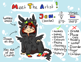 Meet the Artist! by Bienoo