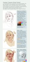 Character Portrait Tutorial by toerning
