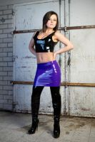 Lily purple Latex 07 by GuldorPhotography