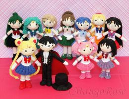Sailor Moon Collection Bundle (Crochet Patterns) by xMangoRose
