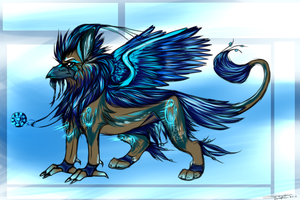 BlueBird Griffin Design Auction + Ref. -Closed by AgentWhiteHawk