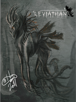 Creature:   Greater Leviatanus by Zelphyre