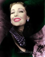 Loretta Young colorised by ThinkingKind