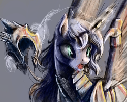 Surprised Luna Speed Painting by SilFoe