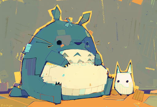 Totoro by michaelfirman