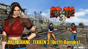 Julia Chang - Tekken 3 (2P) Outfit Remake by Changinformatica