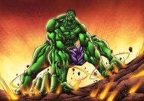 Hulk SMASH them FLOORS!! by MadcapLLC