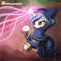 Speed Paint - Opuscule Magicka by luminaura