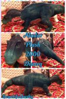 Aladar Plush Dinosaur Disney 2000 by BeautifulHusky