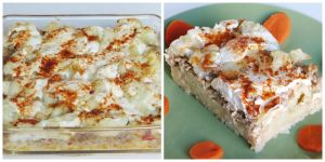Hungarian Cauliflower Casserole by Kitteh-Pawz