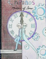 Chronos: Master of Time(Comic Book Cover Finished) by Wingflyer