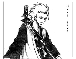 Bleach. Hitsugaya for Nidhi by darthmongoose