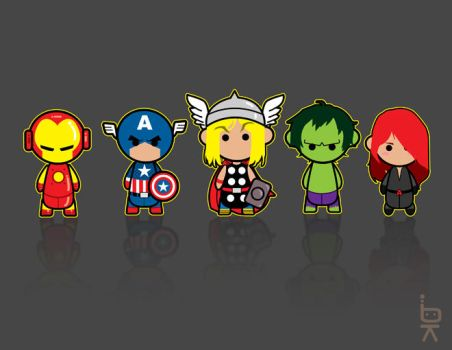 The Avengers KB by KenjiArts