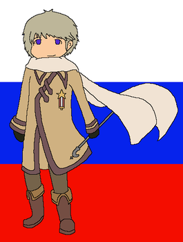 Hetalia: Russia by angel-clan