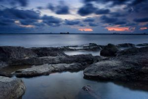 Beach of Rock by hilmanfajar