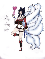 Ahri [A New Dawn] by Doujio