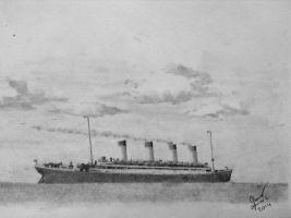 RMS Olympic by SammfeatBlueheart