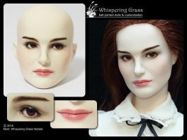 Whispering Grass Natalie faceup by scargeear