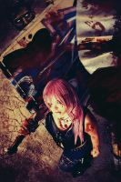 Lightning ~ Bloody Day by GoddessOfValhalla