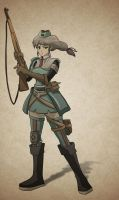 Valkyria Chronicles - Hidden Character by Yacumo