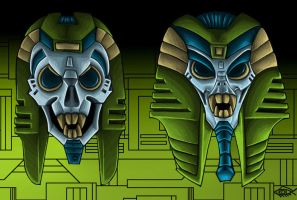 Quintesson Masks 2 by Koilungfish