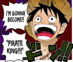 One Piece Luffy Pirate king by animegurl452