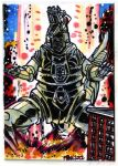 Godzilla Contest MechGodzilla Puzzle Card 4 of 4 by fbwash