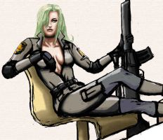 Sniper Wolf by CarbonatedTsoda