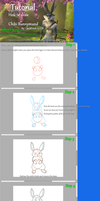 Tutorial - How to draw chibi Bunnymund by JackFrost-LCDA
