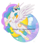 Celestia by bluedemon00
