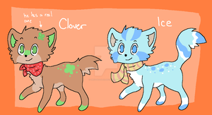 FoxDogAdoptables :CLOSED: by DrkzDoodles