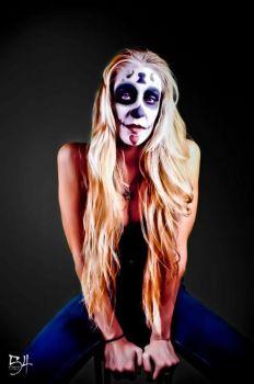 Krystin Sugar Skull 2 by LaurenWiles