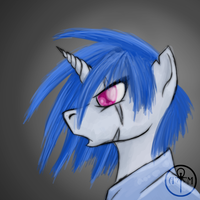 Requiem: Vinyl Scratch by Adalbertus