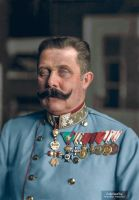 Colorization: Archduke Franz Ferdinand of Austria. by marinamaral