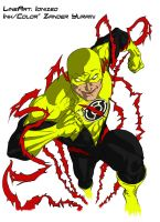 Yellow Lantern Reverse Flash by ZanderYurami