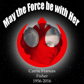 May the Force be with Her by DracofireProductions