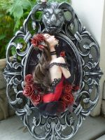 Beauty and the Beast Framed Sculpture by MysticReflections