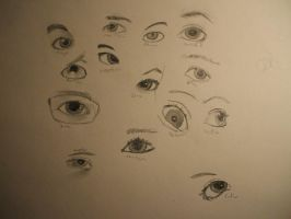 Eye Project -Draft 1- by Zargap