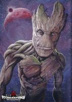Groot The Guardian by PsychoSlaughterman