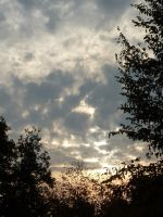 Sunny clouds by Rouna-Kanes