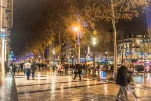 oh Champs Elysees ... by Rikitza