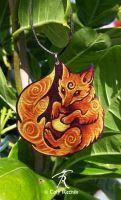 Totem Fox Necklace by TrollGirl